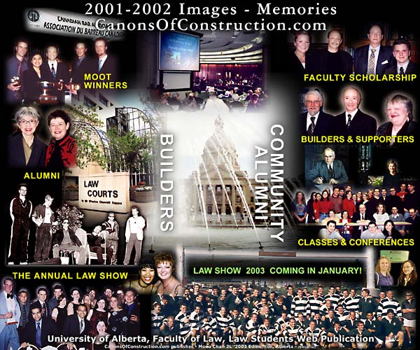CLICK TO SEE FULL SCREEN VERSION OF THIS IMAGE COLLAGE -- 2001-2002 a review of photo collection of Canons on the events of these past two (2) years